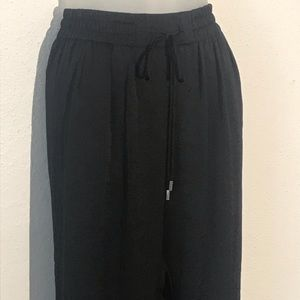 Zara Womens Pants M Black Trafaluc Collection